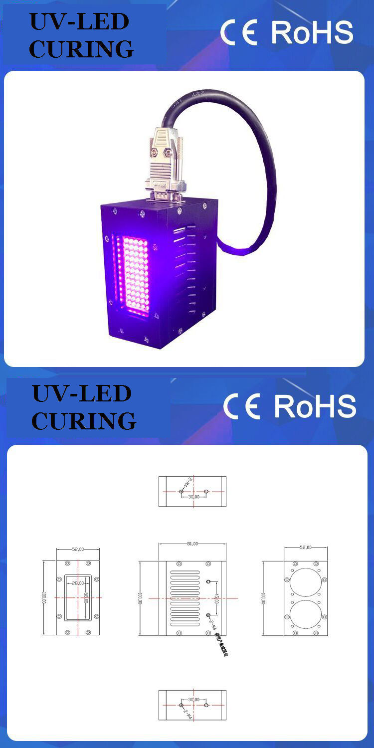 Air Cooling Curing UV LED System