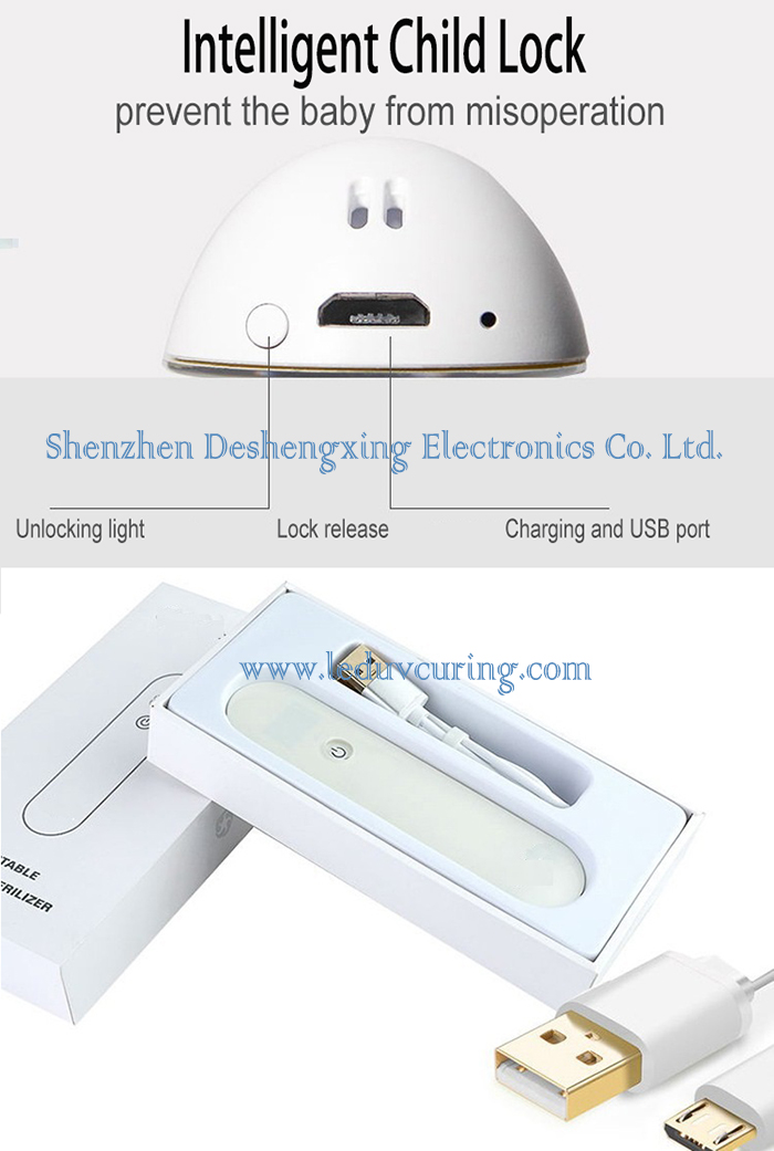Sterilized UVC Ultraviolet Sterilizing Lamp install in Disinfection Cabinet