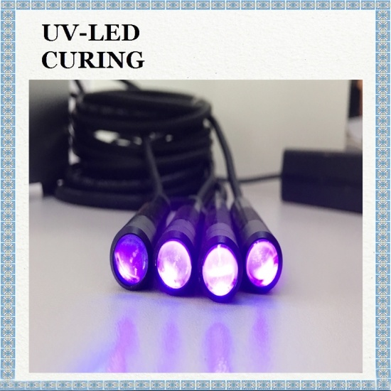 Spot Light Source UV LED for Fast Curing UV Glue Curing Pen Natural Cooling