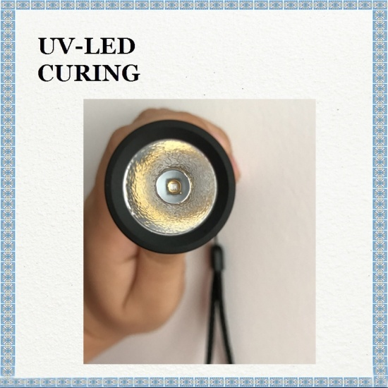 Inside Korea 3W UV LED UV365nm UV Flashlight for Fluorescence Inspection Leak Detection