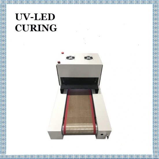 High Power Desktop 300x30mm UV LED Curing Machine