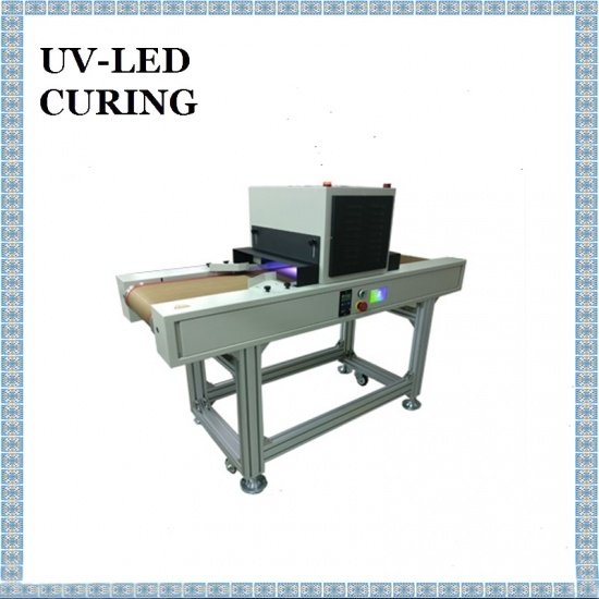 200x100mm Vertical Table LED UV Curing Machine for Screen Printing