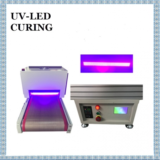 350X30mm Conveyor UV LED Curing Machine for Offset Printing