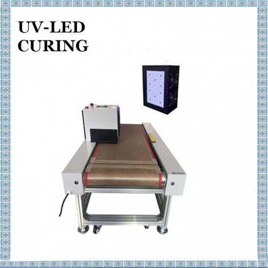 DSX-SL150-100X150 365nm UV LED Curing Machine Data Line Solder Joint Reinforcement UV Curing System