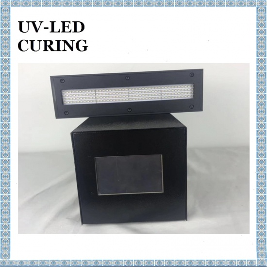 200*20mm Large Area LED UV Curing Machine for Coating Curing LED UV Ink UV Glue Curing