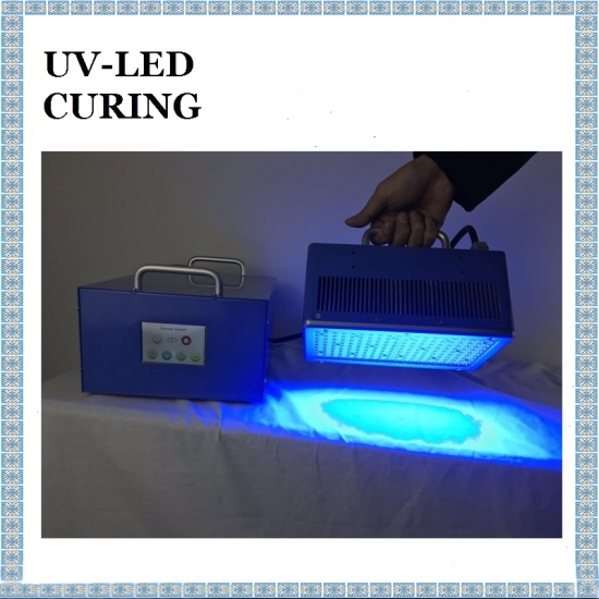 100*200mm Rapid Curing Standard UV LED Curing Light Source
