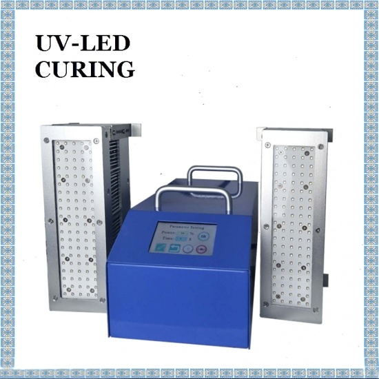 50*200mm Double-Position UV LED Curing Machine Specialized Curing Stereo Speaker Equipment